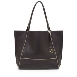 Botkier Leather Tote Gold gunmetal design